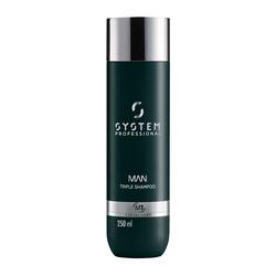 System Man - Triple Shampoo 250 ml