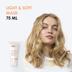 Light & Soft Mask  - Maschera per capelli fini 75ml
