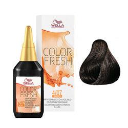 Wella Professionals - Wella Color Fresh 4/07 Castano medio naturale sabbia