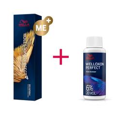 Wella Professionals - Color Kit Koleston Perfect Me+ 4/00 Castano medio naturale