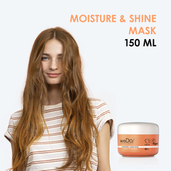 Moisture & Shine Mask  - Maschera per capelli spenti o danneggiati 150ml