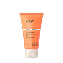 WEDO - Moisture & Shine Mask  - Maschera per capelli spenti o danneggiati 75ml