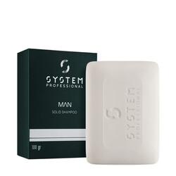 System Man - Solid Shampoo - Shampoo Solido da viaggio 100gr