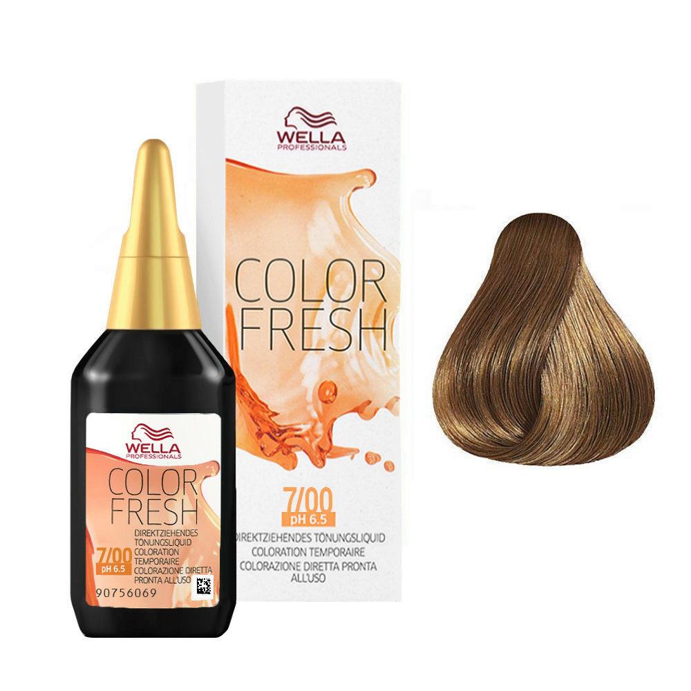 Wella Color Fresh 7/00 Biondo medio naturale