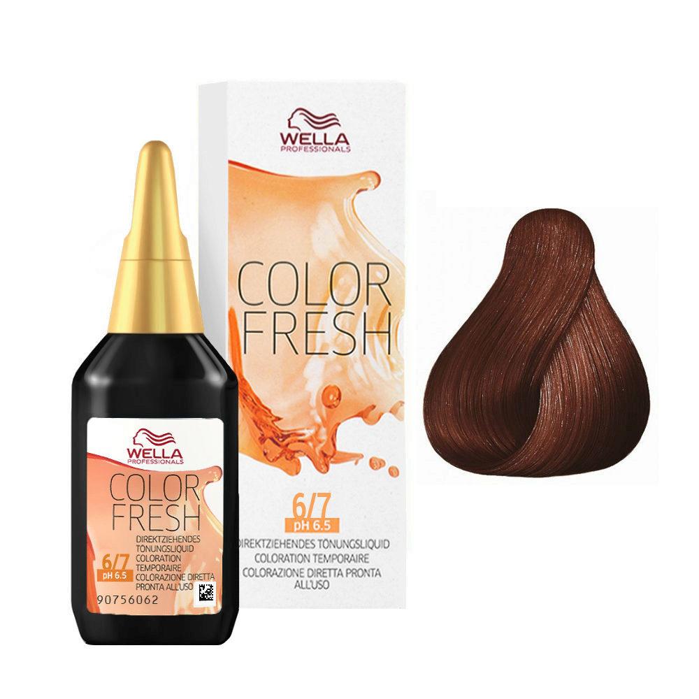 Wella Color Fresh 6/7 Biondo scuro sabbia